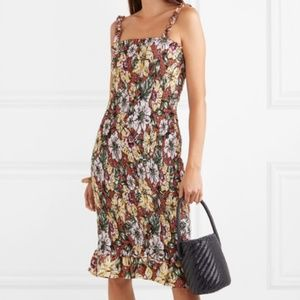NWT Faithfull the Brand Maya Smocked Dress